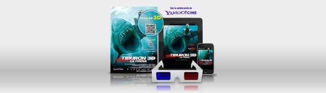 Tiburón 3D La Presa QR Code